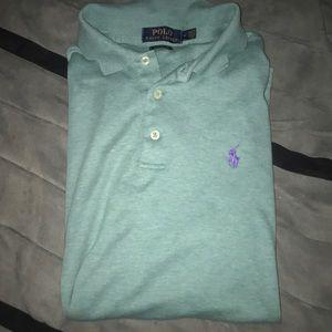 Men's green medium Polo shirt